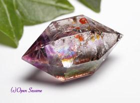 エレスチャル水晶、骸骨水晶、ワニ水晶の販売と、意味・効果・浄化方法